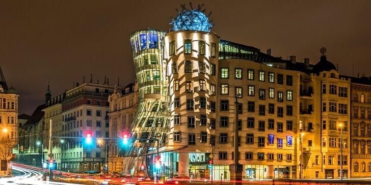 Tančící dům je jedním z nejvýraznějších symbolů Prahy. Prožijte jednu nebo dvě noci v hotelu, který je jeho součástí.