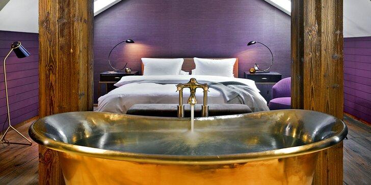 Pozvěte svou drahou polovičku do hotelu The Emblem, kde je pro vás připravené apartmá Library.