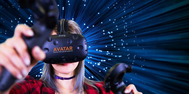 Úžasné světy bez hranic: virtuální realita na 30 či 60 minut až pro 5 osob