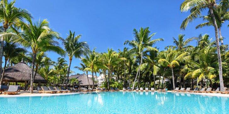 4* resort s lázněmi na Mauriciu: 6–12 nocí, polopenze a 2 obří bazény