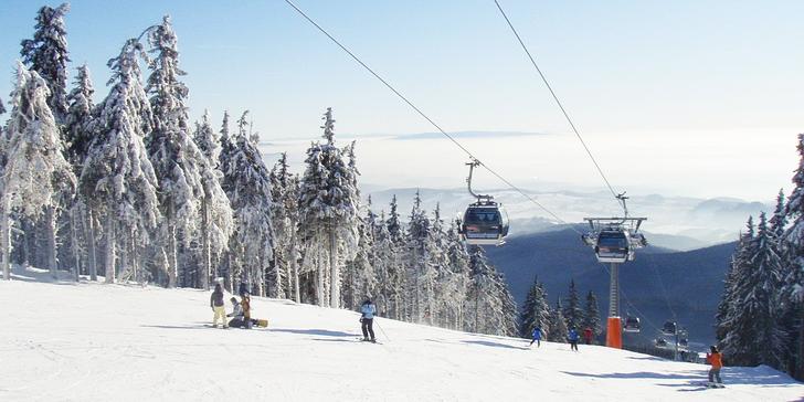 Parádní lyžovačka v Janských Lázních s chutnou polopenzí – až 37,6 km tratí