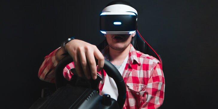 Staň se virtuálním závodním pilotem: pilotuj 180 typů závodních vozů