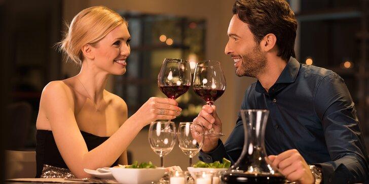 Romantický večer: koncert Dvořák Symphony Orchestra, večeře i láhev vína