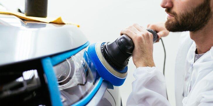 Jezděte bezpečněji: renovace světlometů s rozleštěním a odstraněním defektů