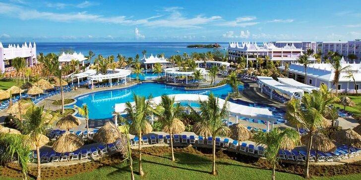 Krásný 4*+ hotel na Jamajce: 7 nebo 14 nocí, all inclusive, 2 bazény, vířivka