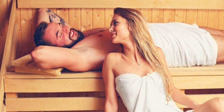60 nebo 120 minut v privátní sauně a páře pro dva v centru Prahy