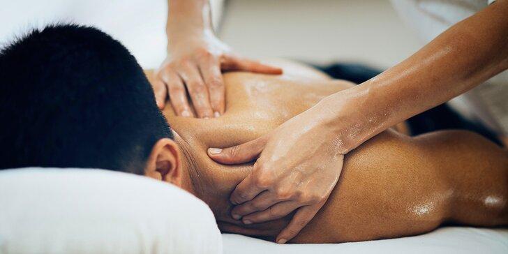 Klasické i zdravotní masáže dle výběru v délce 30 i 60 minut