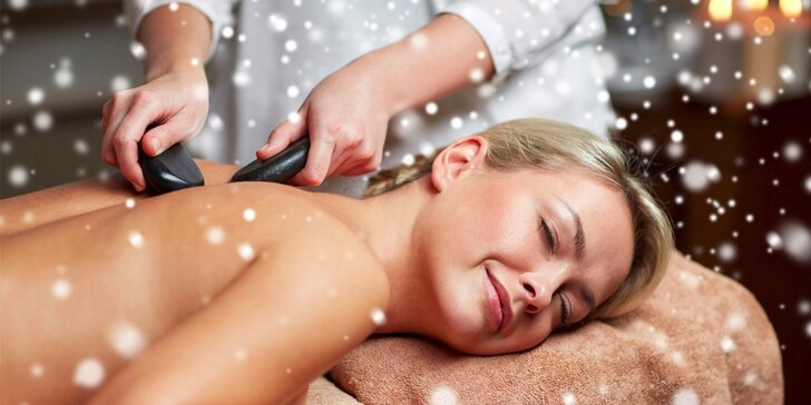 Až dvě hodiny relaxu: masáž dle výběru i celotělová masáž lávovými kameny