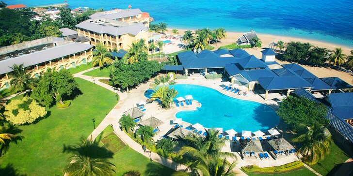4* resort na Jamajce: 7 nebo 14 nocí, all inclusive, 3 bazény a golfové hřiště
