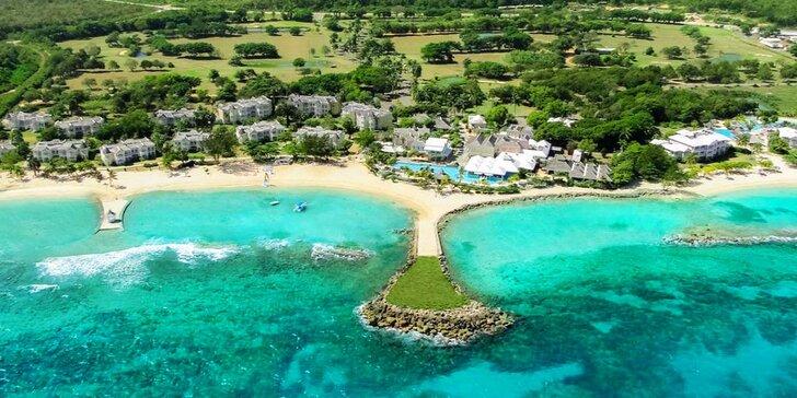 Luxusní 5* resort na Jamajce: 7 nebo 14 nocí, all inclusive, soukromá pláž