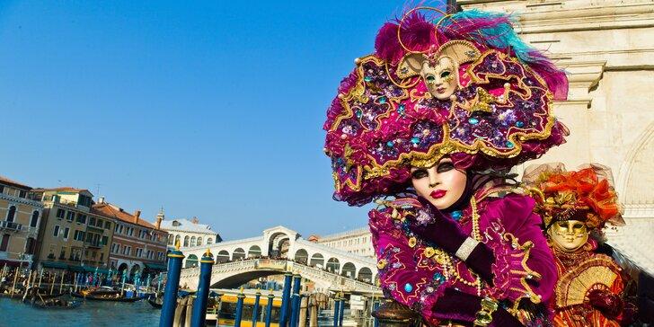 Karneval v Benátkách a město Romea a Julie: zájezd s 1 nocí v hotelu