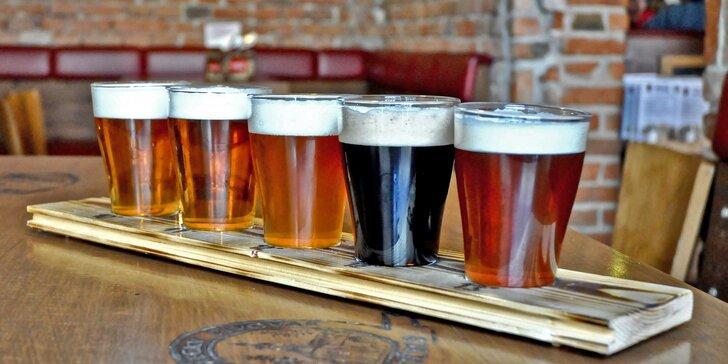 Speciální zlatavý mok: ochutnávka pěti 10°–13° piv z pivovaru z roku 1547