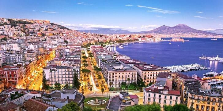 Letecky za krásami Neapole: 3 noci, 2 snídaně, výlet na Capri i do Pompejí