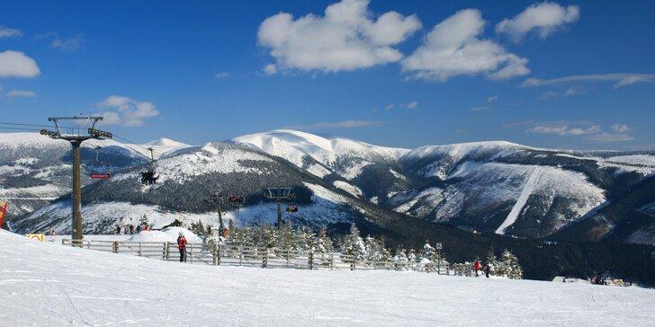 3–5denní pobyt pro lyžaře či turisty ve Špindlerově Mlýně s polopenzí