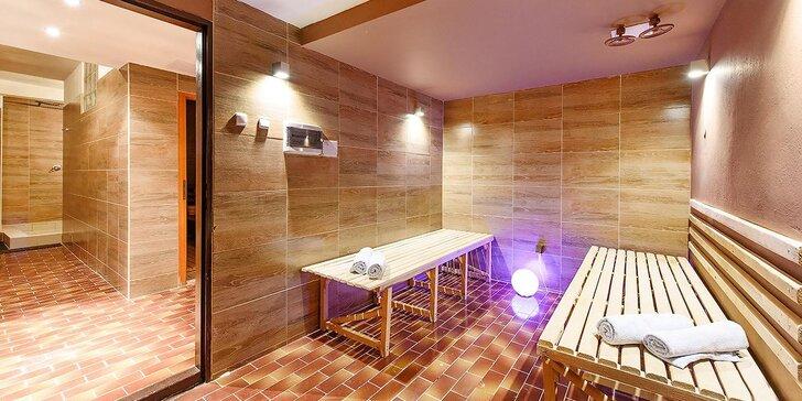 Hotel s výhledem: polopenze, volný vstup do sauny, slevy na aktivity