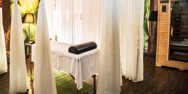 Odpočiňte si: balíček 4 relaxačních procedur v luxusním wellness pro 2 osoby