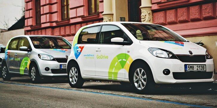 Auto přes carsharing: 70% sleva na půjčení Škody Citigo od 1 do 48 hodin