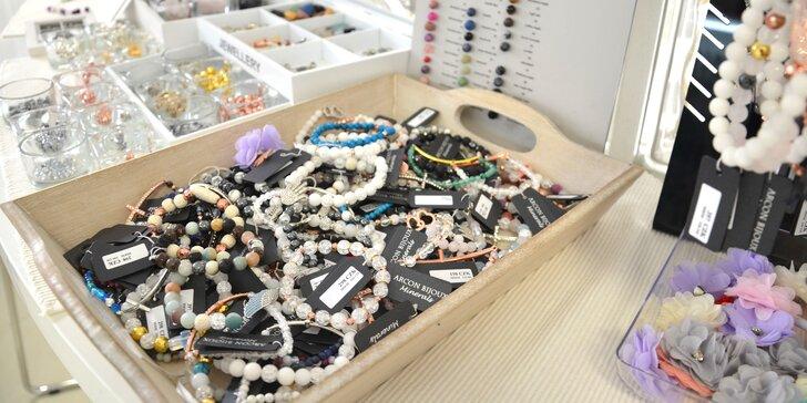 Workshop výroby minerálních náramků pro 1 osobu z léčivých korálků