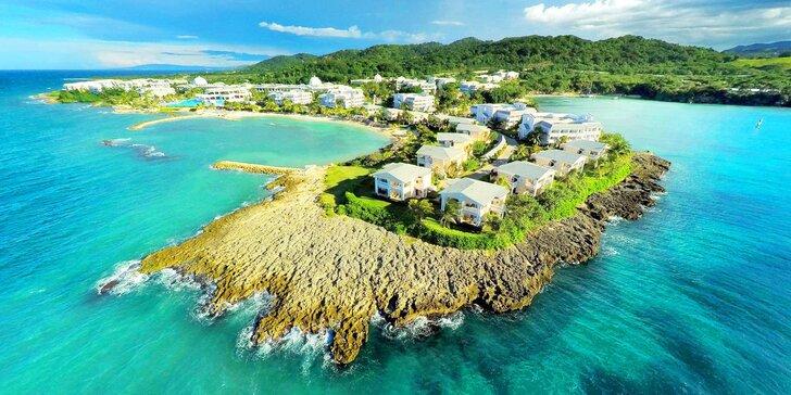 Překrásný 5* hotel na Jamajce: 7 nebo 14 nocí, all inclusive, bazény s vířivkou