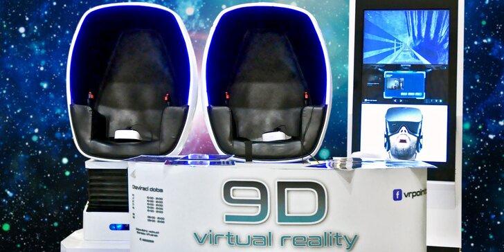Neuvěřitelně uvěřitelné: dva filmy na 9D virtuální realitě pro 1 i 2 osoby