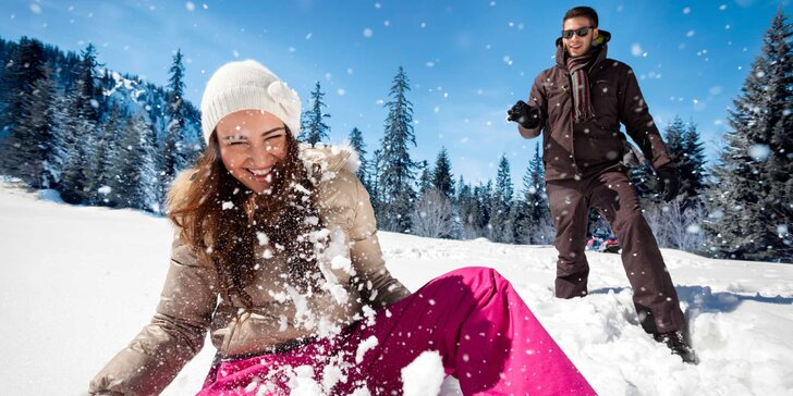 Zima na Lipně včetně polopenze a karty plné výhod na aktivity v okolí