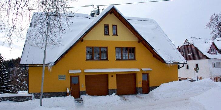 Aktivní dovolená v apartmánech Vítkovice v Krkonoších s možností wellness
