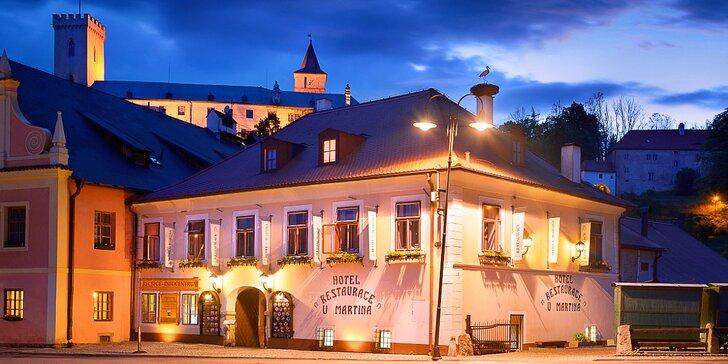 Jihočeská romantika: 3 dny v Rožmberku, regionální jídlo a skvělé zážitky