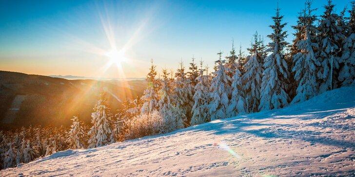 Zima nebo jaro u Radhoště se snídaněmi, beskydskou večeří a wellness