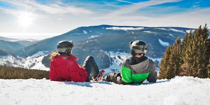 Aktivní zima a jaro na Lipně: polopenze, sport, cyklostezky i výlety