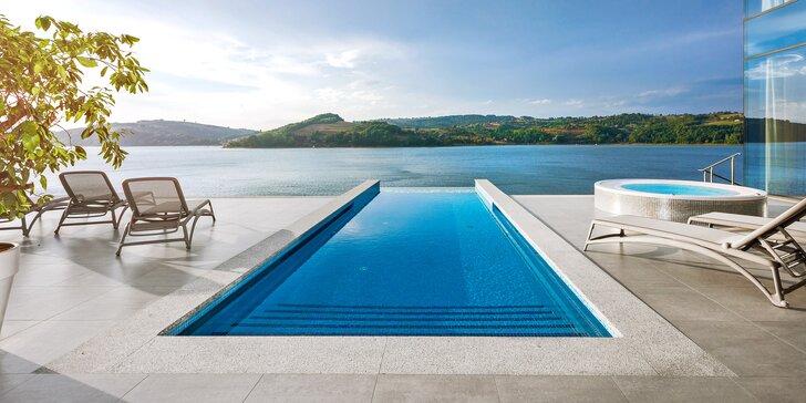 Zima či jaro v luxusním 5* hotelu u jezera: skvělé jídlo a wellness s výhledem