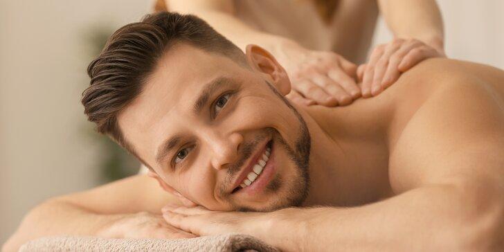 Balíček pro muže: Thajská masáž, relaxace u oxygenoterapie a vychlazené pivo