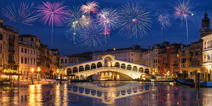 Oslavte Nový rok v Itálii: Benátky a Verona s ubytováním na 1 noc a snídaní
