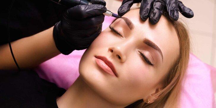 Dopřejte si permanentní make-up: 3D vláskované obočí, linky nebo rty