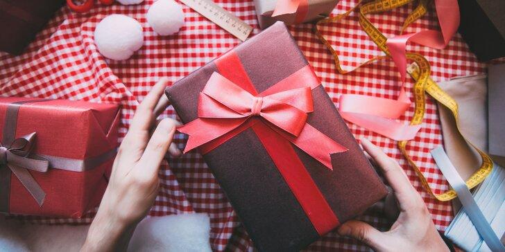 Nechte si zabalit dárky pod stromeček - výběr z druhů papírů i velikosí