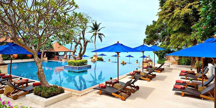 Luxusní 5* resort v Thajsku: 6–12 nocí, snídaně, 2 bazény s vířivkou, u pláže