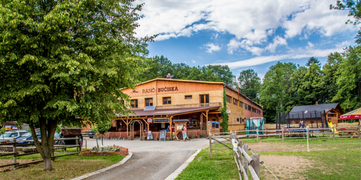 Relax i romantika na ranči Bučiska: privátní wellness, masáž a občerstvení