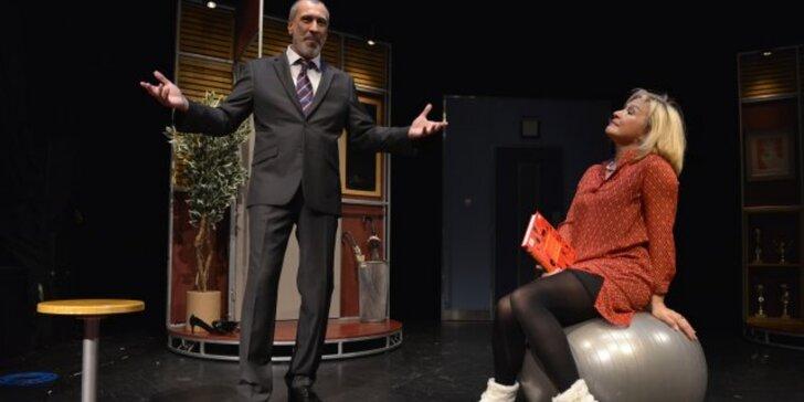 Vstupenka na divadelní představení: Ani spolu, ani bez sebe
