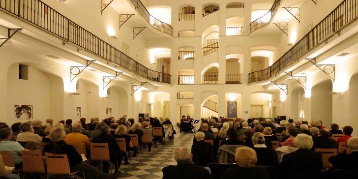 Vstupenka na koncert klasiky i argentinského tanga v Českém muzeu hudby