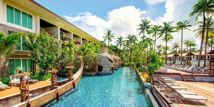 Přepychový 5* resort v Thajsku: 6–12 nocí, snídaně, 10 bazénů, přímo u pláže