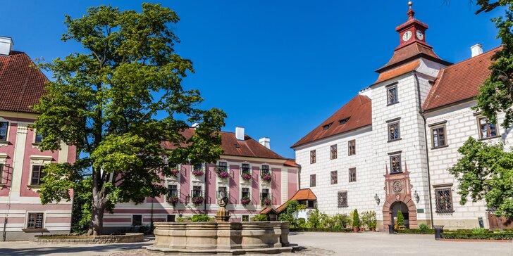 Zimní či jarní relax v Třeboni s polopenzí, bazénem a prohlídkou pivovaru
