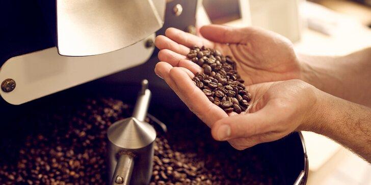 Po stopách kávových zrn: prohlídka lázeňské pražírny a dárky k tomu