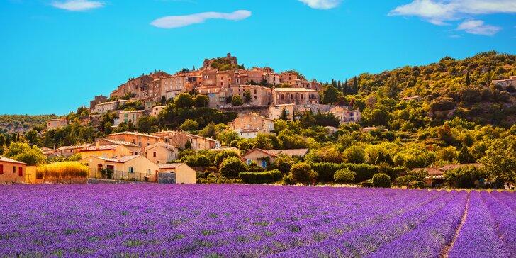 Za krásami Francie: Provence, Marseille, ostrov If i Cannes a Monako na 2 noci
