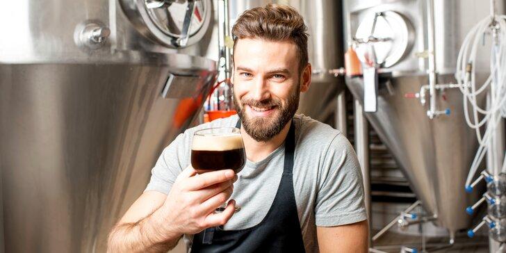 Komentovaná prohlídka Hanáckého pivovaru včetně degustace