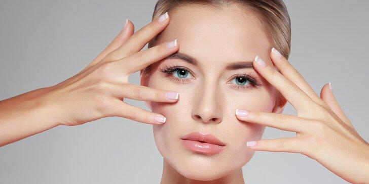 Liftingové ošetření očního okolí a pozvednutí očních víček