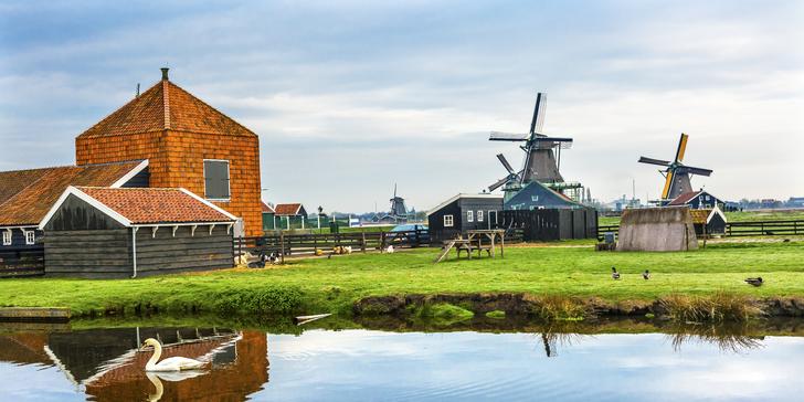 Nejkrásnější národní parky Holandska a Amsterdam na 2 noci vč. snídaně
