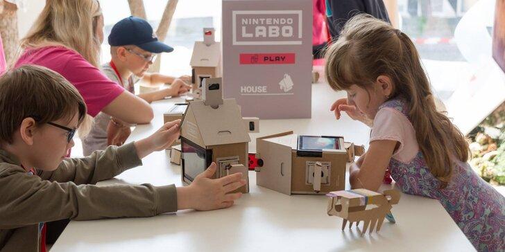 Zabavte sebe i svá dítka: interaktivní laboratoř pro jednoho i rodinu