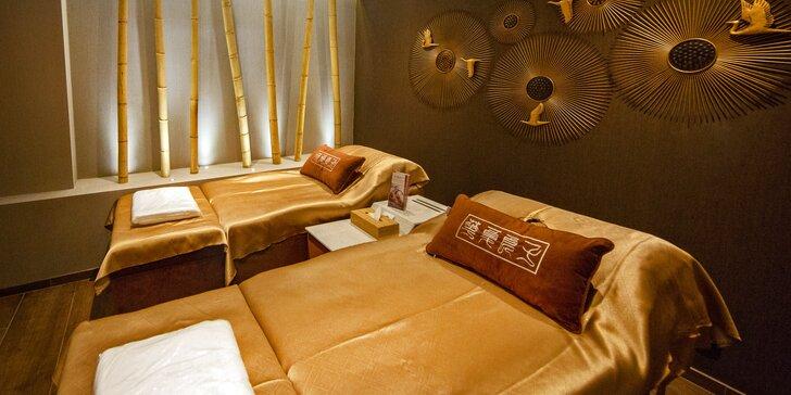 Dopřejte si léčivý relax: tradiční čínské masáže hlavy, zad i lifting pleti