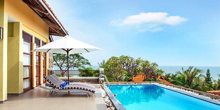 Krásný 4* resort ve Vietnamu: 6–12 nocí, polopenze, bazén, soukromá pláž