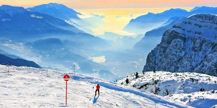 Lyžování v italských Alpách: 50 km sjezdovek a 3* hotel jen 60 m od lanovky