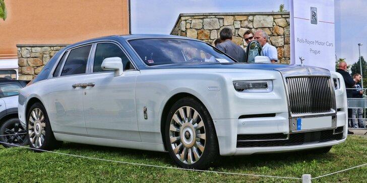6. sraz automobilových veteránů značek Rolls-Royce, Bentley a dalších